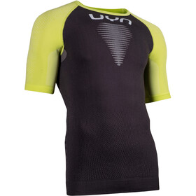 UYN Marathon OW T-shirt Herrer, charcoal/acid lime/white